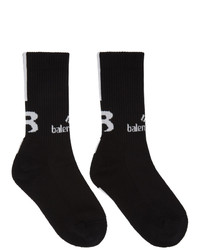 Balenciaga Black Sponsor Socks