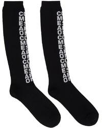 Comme Des Garcons Homme Plus Long Logo Socks