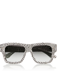 Dita Creator Square Frame Printed Acetate Sunglasses
