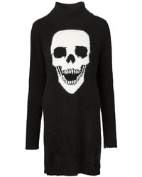 Philipp Plein Yourself Sweater Dress