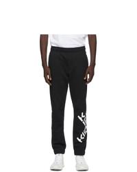 Kenzo Black Fleece Big X Lounge Pants
