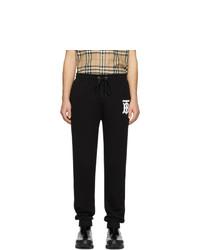 Burberry Black Gresham Lounge Pants