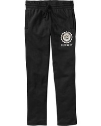 Old Navy Jersey Fleece Logo Sweatpants