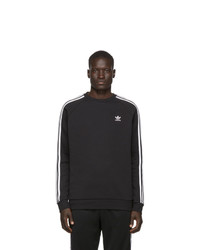 adidas Originals Black 3 Stripes Sweatshirt