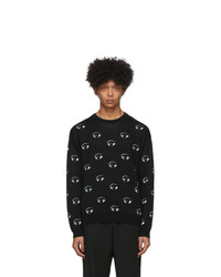 Kenzo Black All Over Eye Sweatshirt