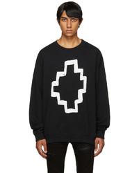 Marcelo Burlon County of Milan Black Cross Sweatshirt