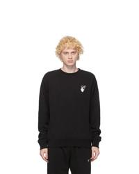 Off-White Black Cut Here Sweatshirt