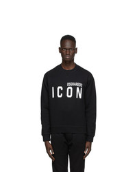 DSQUARED2 Black Icon Sweatshirt