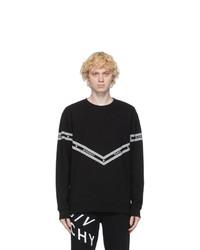 Givenchy Black Logo Chain Sweatshirt