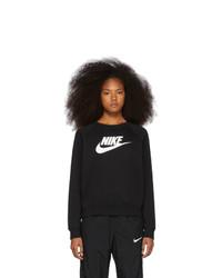 Nike Black Logo Crewneck Sweatshirt