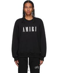 Amiri Black Logo Sweater