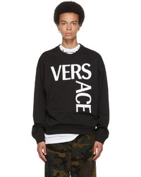 Versace Black Logo Sweatshirt