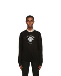 Versace Black Medusa Sweatshirt