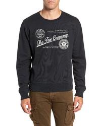 Frye Dry Goods Screenprint Regular Fit Sweatshirt