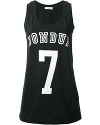 Dondup Logo Print Vest
