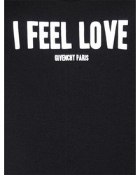 Givenchy I Feel Love Print Cotton Jersey Tank Top