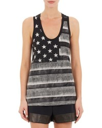 Givenchy Stars Stripes Tank Black