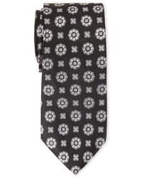 Isaac Mizrahi Medallion Print Tie