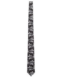 Paul Smith Palm Tree Jacquard Silk Tie
