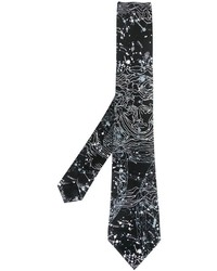Versace Constellations Pattern Tie