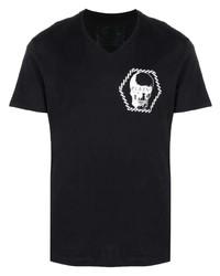 Philipp Plein Skul  Print Logo T Shirt