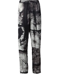 Ilaria Nistri Abstract Print Trousers