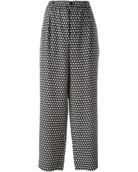 Marni Printed Wide Leg Trousers