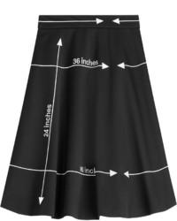 Moschino Printed Wool Skirt