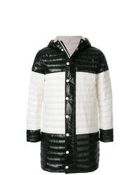 Black and White Puffer Coat