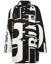 Balenciaga Printed Quilted Cotton Poplin Jacket