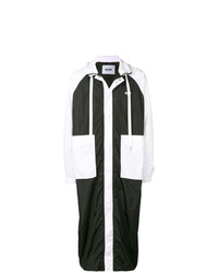MSGM Zip Front Hooded Rain Coat