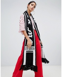 Missguided Mg Logo Football Scarf