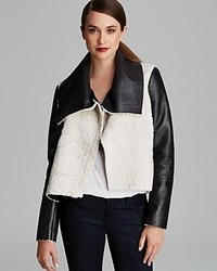 French Connection Jacket Mika Faux Shearling