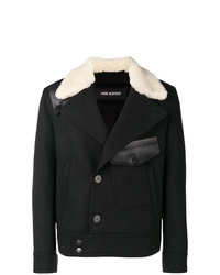 Neil Barrett Contrast Fitted Coat