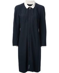Chanel Vintage Detachable Collar Zip Dress