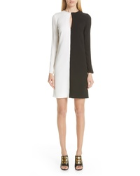 Givenchy Asymmetrical Bicolor Dress