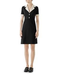 Gucci Tiger Button Jersey Dress