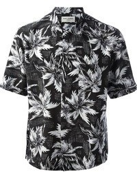 Black and White Short Sleeve Shirts for Men | Men's Fashion