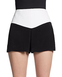 Tibi Ava Bi Colored Skort