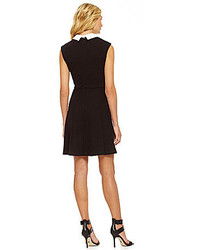 Pop Boutique Swing Dress With Lace Collar And Cuff Where