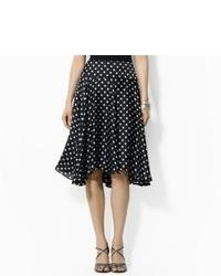 Black and white skater skirt original 4355949