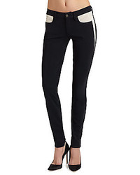 Black and White Skinny Jeans