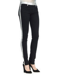 Black and White Skinny Pants