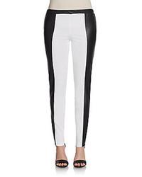 Colorblock skinny pants medium 105419