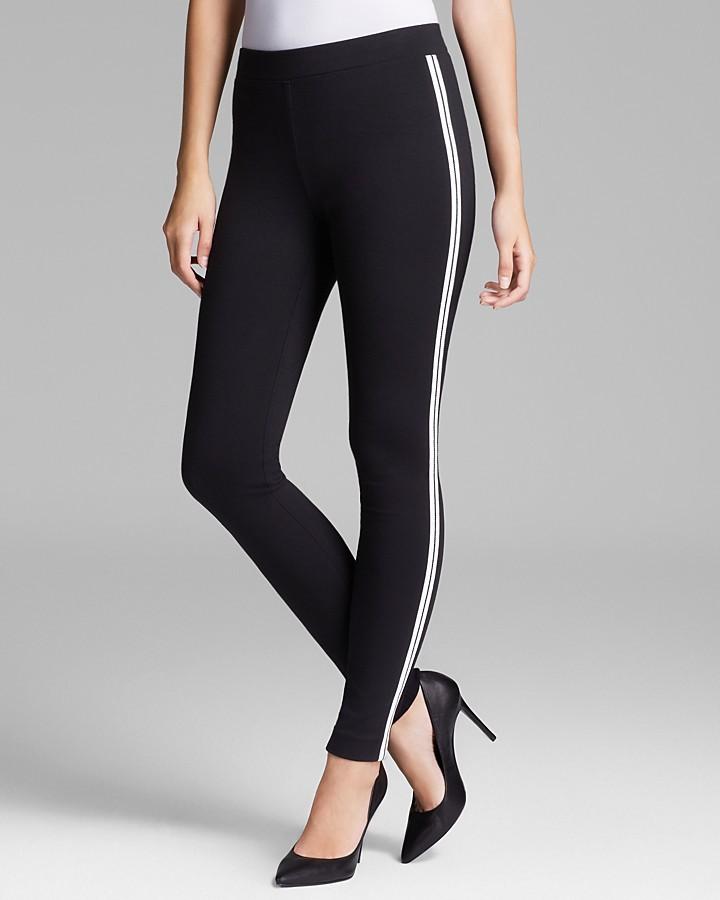 1b1eabaa40941 DKNY Leggings With Stripe Sport Sides, $145 | Bloomingdale's ...
