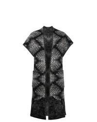 Etro Jacquard Sleeveless Cardi Coat