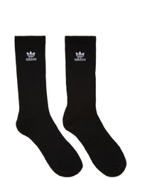 adidas Originals Six Pack Black And White Trefoil Socks