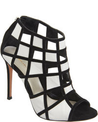Gianvito Rossi Geometric Cutout Bootie Sandals