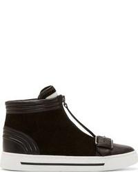 Black suede bmx sneakers medium 80292