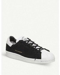 0abc0f6ff40b ... Adidas Y3 Y 3 Superstar Knot Suede Low Top Trainers ...